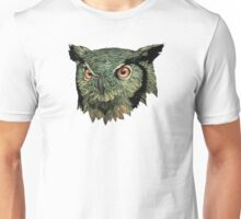 Owl - Red Eyes Unisex T-Shirt