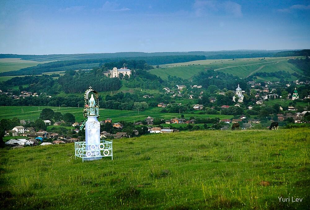 Approach to the Village of Budaniv, Ukraine by Yuri Lev