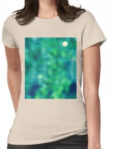 Bokeh Womens Fitted T-Shirt