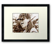 Stopppppppp! Framed Print