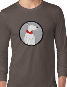 ENGLISH BULL TERRIER CUTE PORTRAIT Long Sleeve T-Shirt