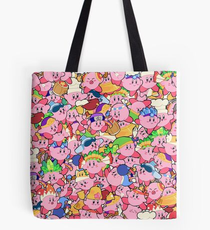 Kirby Patterns  Tote Bag