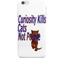 curiosity iPhone Case/Skin