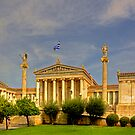 Academy of Athens by Tom Gomez