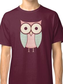 Owl Have Two Doughnuts Classic T-Shirt