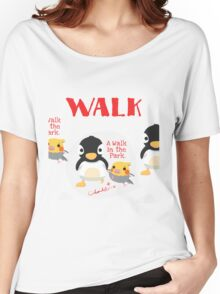 A WALK IN THE PARK Women's Relaxed Fit T-Shirt