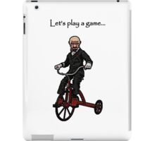 Let's Play A Game - Say my Name iPad Case/Skin