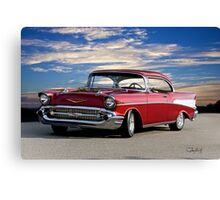 1957 Chevrolet Bel Air Hardtop Canvas Print