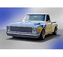 1970 Chevrolet Stepside Pickup Photographic Print