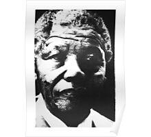 Nelson Mandela Portrait Poster