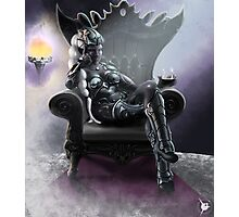 Drow Queen Photographic Print