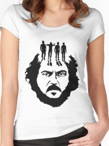 Stanley Kubrick and his droogs! Women's Fitted Scoop T-Shirt