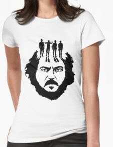 Stanley Kubrick and his droogs! Womens Fitted T-Shirt