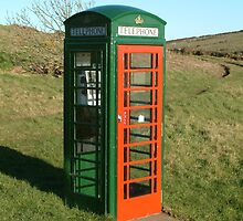 Not your ordinary telephone box by petertucker