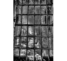 Fractured (Monochrome) - Gladesville Asylum - The HDR Experience Photographic Print