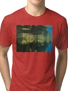 Above And Below Water Tri-blend T-Shirt
