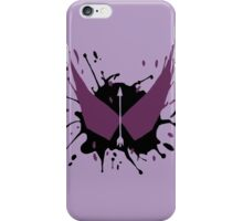 Hawkeye Splatter iPhone Case/Skin
