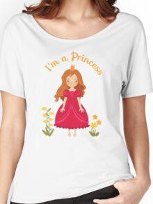Little girl Princess Women's Relaxed Fit T-Shirt