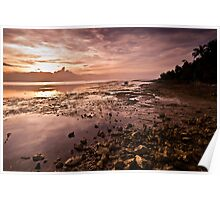 Cebu Island Sunset Poster