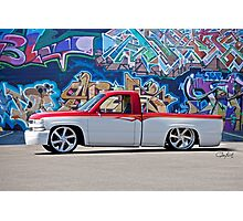Chevrolet 'Low Rider' Pickup Truck Photographic Print