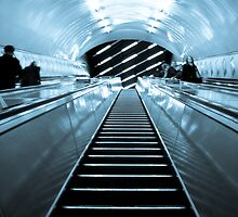 Escalators by Martin Allchin