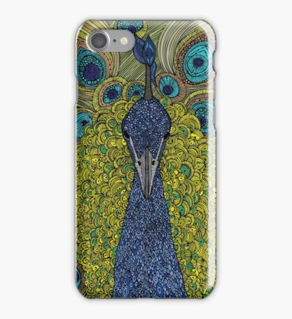 Mr. Pavo Real iPhone Case/Skin