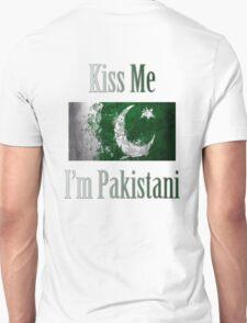 Kiss Me I'm Pakistani T-Shirt