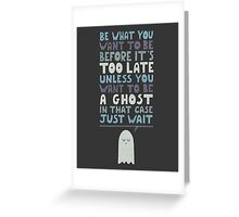 Motivational Speaker Greeting Card