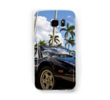 Bright Sports Car on a Sunny Day in Miami Samsung Galaxy Case/Skin
