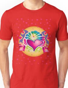 Retro Hearts Unisex T-Shirt