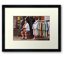 No Sales Framed Print