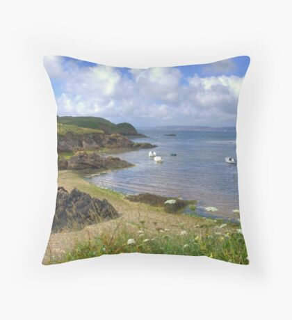 L'Aber, Brittany, France Throw Pillow