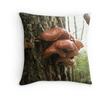 On the Trail Back Throw Pillow