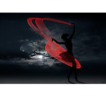 Red Grace Photographic Print