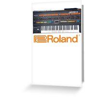 Roland Jupiter 8 Greeting Card