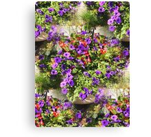 Visions of Purple Canvas Print