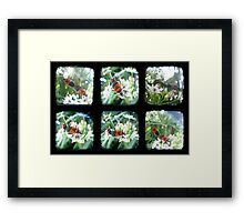 Happy Bugs Polyptych - TTV Framed Print
