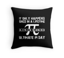 Cool 'Ultimate Pi Day 2015' T-shirts, Hoodies, Accessories and Gifts Throw Pillow