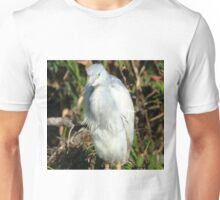 young little blue heron Unisex T-Shirt