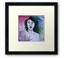 Watercolor Woman Framed Print