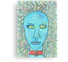 ATTITUDE PROBLEM Canvas Print