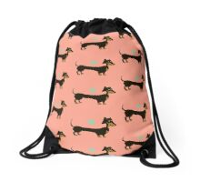 Just Peachy Drawstring Bag