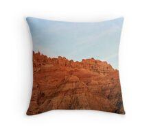 South Dakota Badlands #2 Throw Pillow