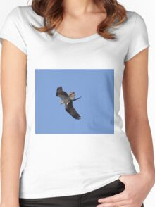 Fish delivery  Women's Fitted Scoop T-Shirt