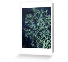 modern abstract oil painting Greeting Card