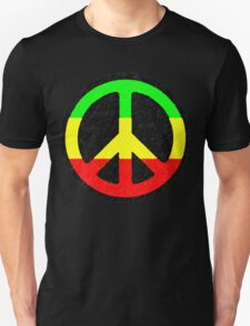 Rasta Peace Sign T-Shirt