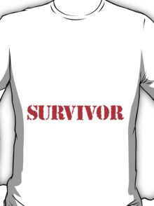 Cool 'Knee Surgery Survivor' Recovery T-Shirt and Gifts T-Shirt