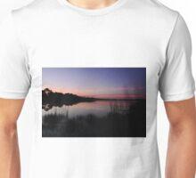 sunrise at the lake Unisex T-Shirt