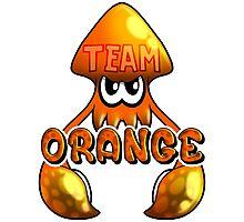 Team Orange - Inkling Photographic Print
