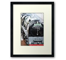 Duke of Gloucester close up steam engine Framed Print
